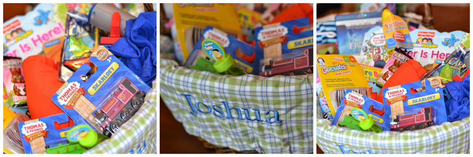 Easter basket ideas for any kid happily a housewife we have the sabrina basket and i did it in natural because i figured white would show wear over the years there are so many adorable liners to go with them negle Images