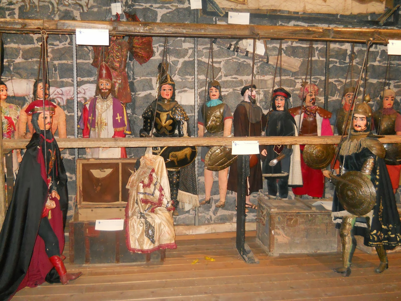 Teatr Sycylijskich Marionetek Pupi światowym Dziedzictwem