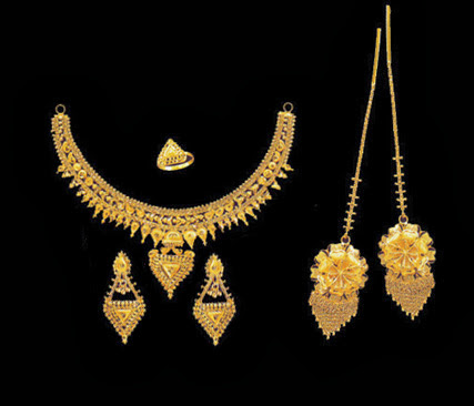 Bridal Gold Jewellery Wallpapers Free Download