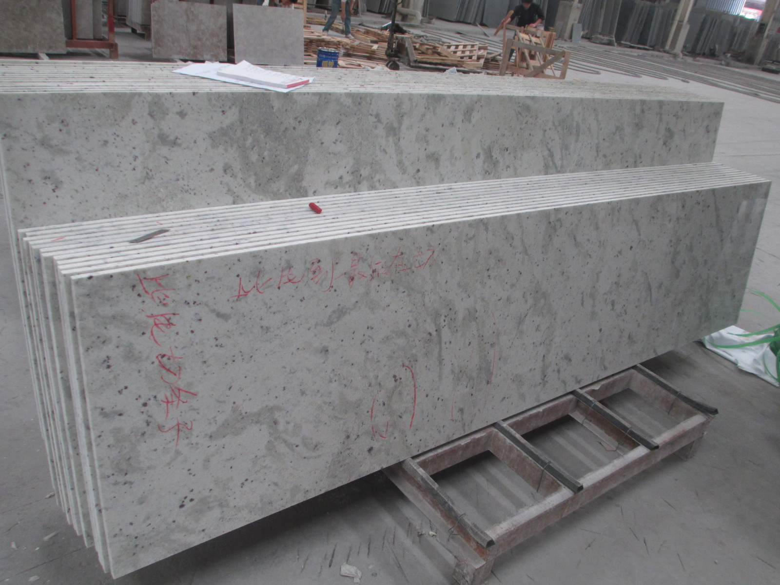 Cheap Price Chinese Granite Slab Cut To Size Flooring Stairs Andromeda White Granite For