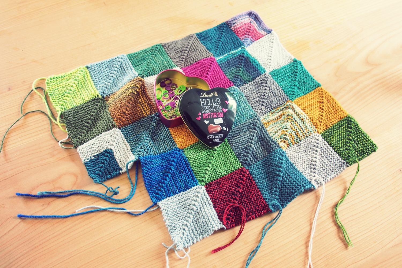 Free Knitting Pattern For Memory Blanket : Schnickschnack: Currently knitting: Memory Blanket