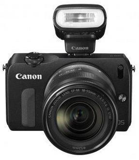 Harga dan Spesifikasi Kamera Digital Canon EOS M - 18MP