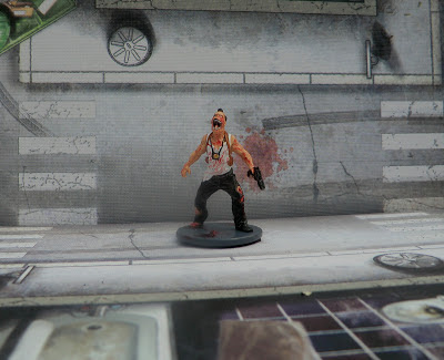 Zombicide Nick Walker Bad Cop Zombivore Survivor Painted