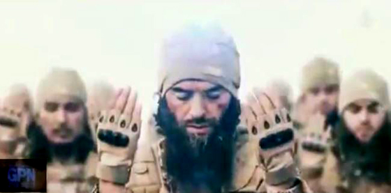 Screen capture from ISIS recruitment video.