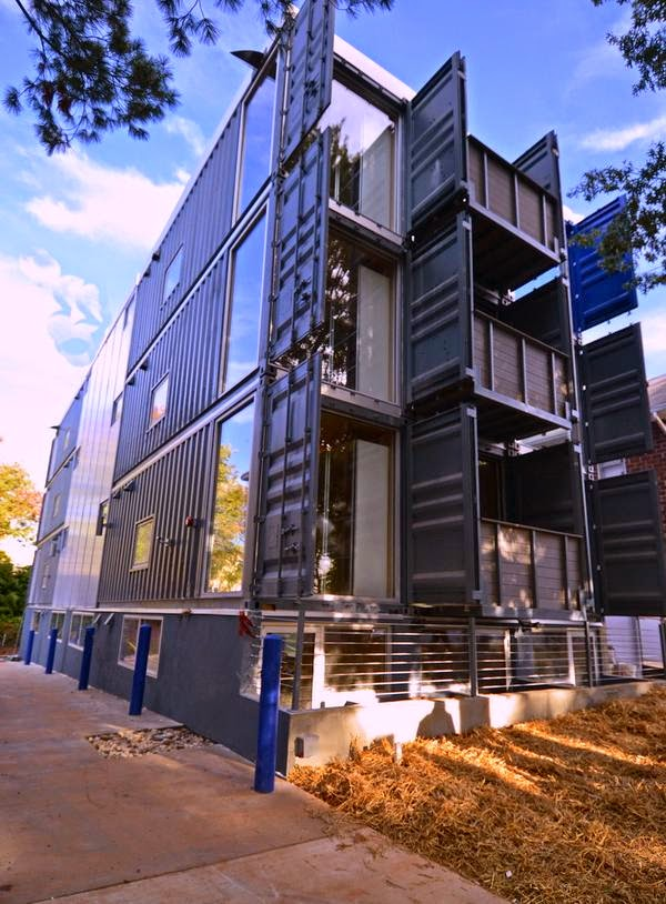 Modular Home Builder Dc 39 S First Container Apartment