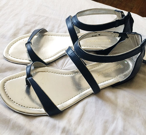 enzo angiolini sandals