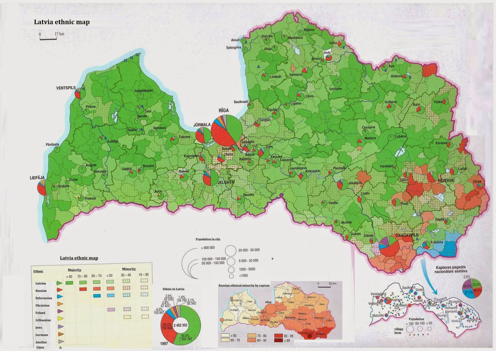 Latvian National Armed Forces Structure and Map Armed Forces in