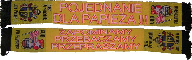 Zgodowe szaliki z Krakowa - fot. FortArt / wikipasy.pl