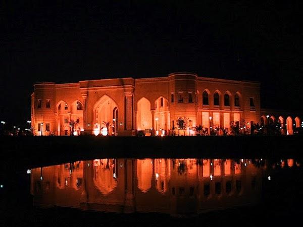 Baghdad at night (Iraq)