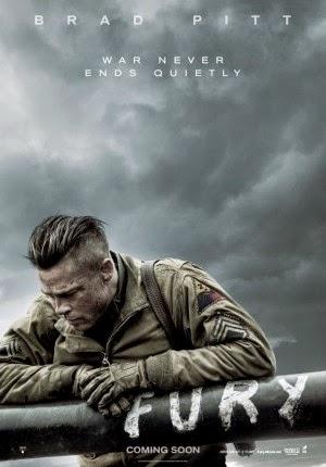 Film FURY 2014 di Bioskop