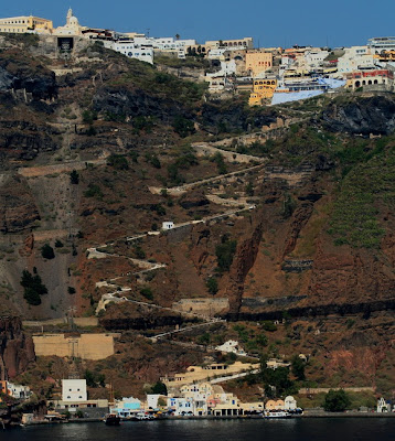 Jalan setapak Santorini, Yunani