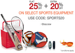 Amazon: Buy Sports, Fitness & Outdoor Products at Minimum 25% OFF + Extra 20% OFF | Starts at Rs. 40