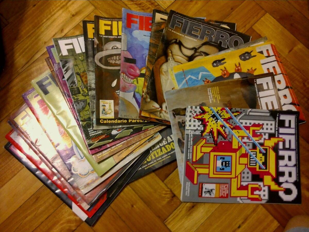 Revista FIERRO ¿la sigo comprando? Lote-revistas-fierro-segunda-etapa-11715-MLA20048997921_022014-F