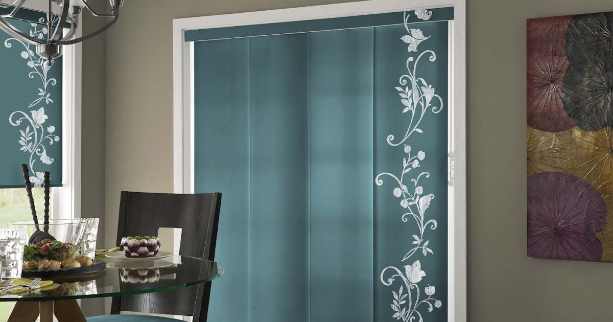 Turquoise Panel Curtain Modern Blinds Design