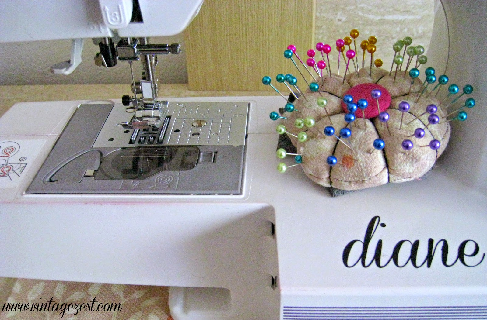 Sewing Rewind: Sewing Basket edition! on Diane's Vintage Zest! #sewing #upcycle