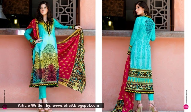 Firdous Colorful Lawn 2015 Volume-02