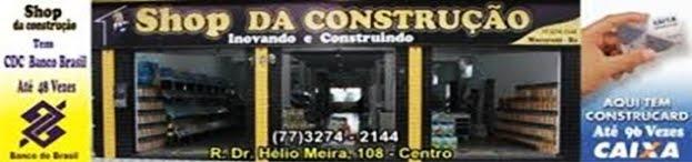 SHOP DA CONSTRUÇÃO