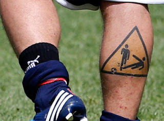 de rossi tatoo