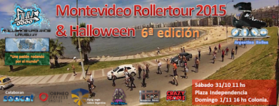 Montevideo Rollertour (31/oct/2015)