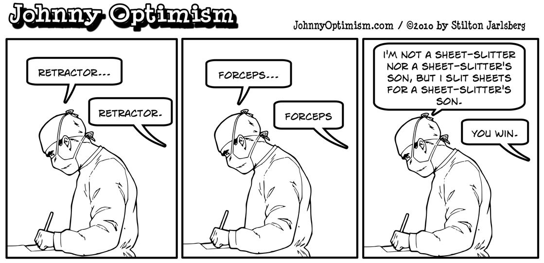 surgeon, johnnyoptimism, johnny optimism
