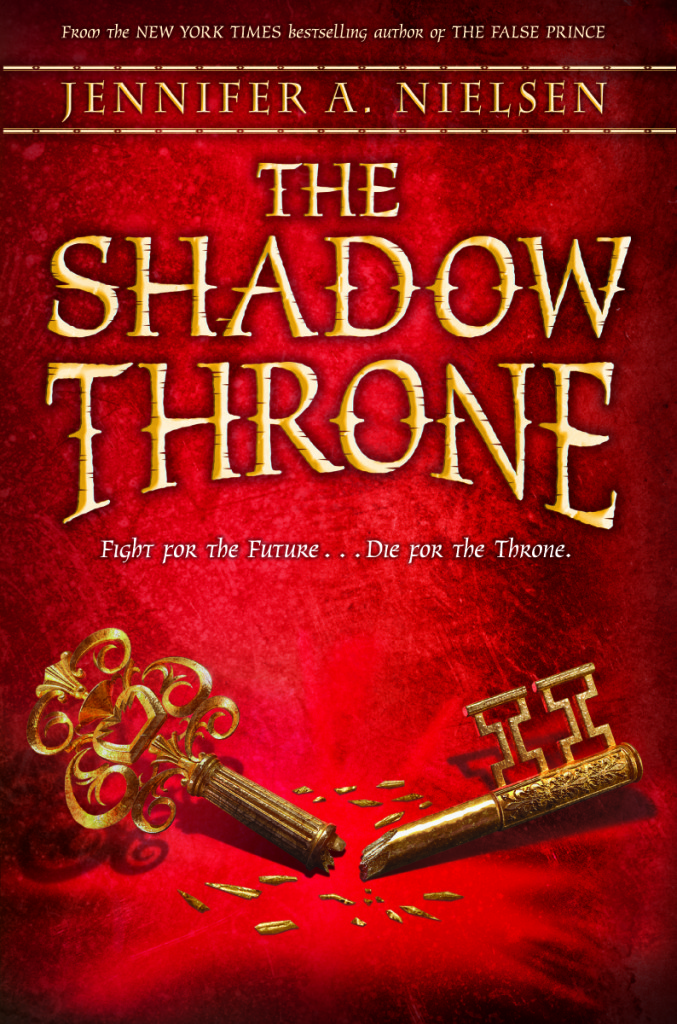 The Shadow Throne by Jennifer Nielsen