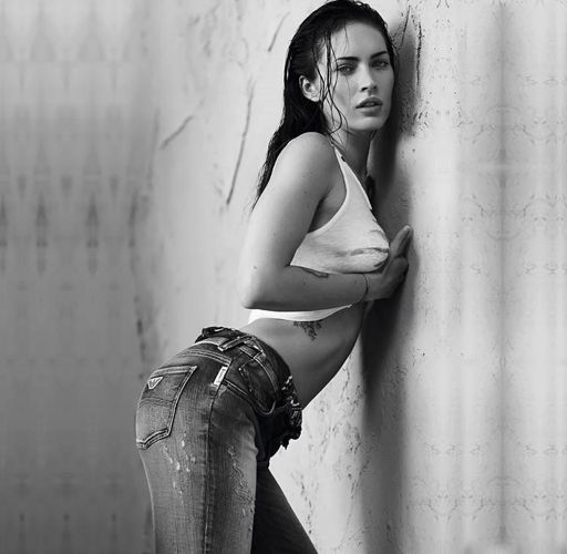 megan fox armani code ad. With a wild and untamed beauty