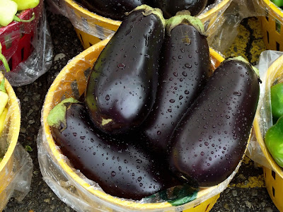 Goodbye to the abdominal fat with water from Eggplant