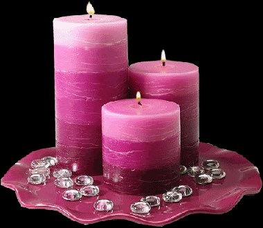 Beautiful candles