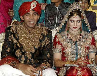 Pakistani Celebrity Wedding Pictures on Pakistani Crickter M  Asif Wedding Pictures   Cricket Players With