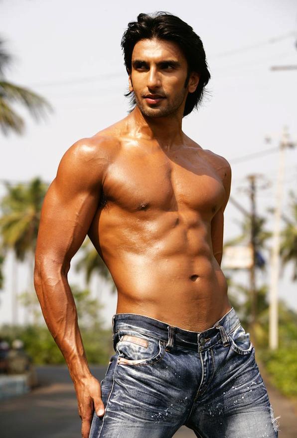 Ranveer Singh Six Pack Abs Hot HD Pics