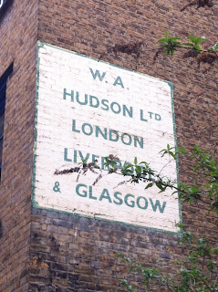 Ghost sign in Shoreditch, London EC2