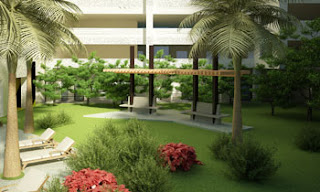 Garden Area at Avida Towers Makati West