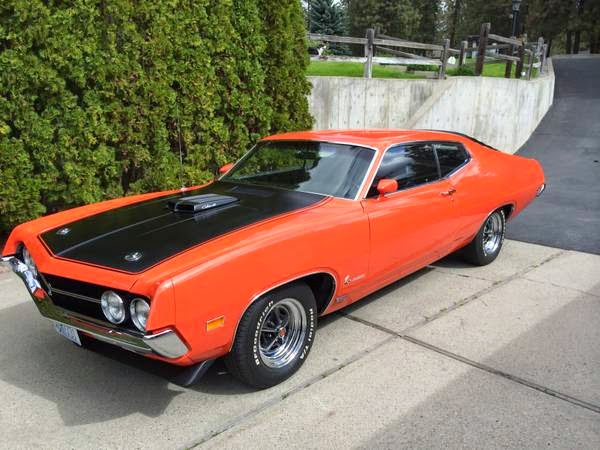 1970 ford torino 429 cobra jet buy american muscle car for 1970 torino rear window louvers