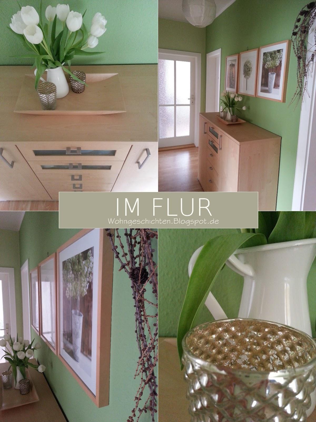 wohngeschichten unser flur oder gr n gr n gr n. Black Bedroom Furniture Sets. Home Design Ideas