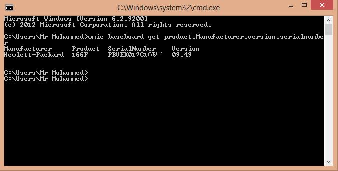 طريقة معرفة اسم واصدار اللوحة الام بحاسوبك mo1.png