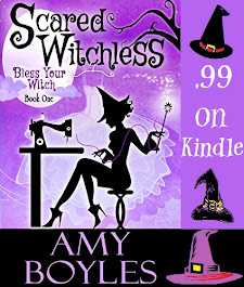 SCARED WITCHLESS by Amy Boyles