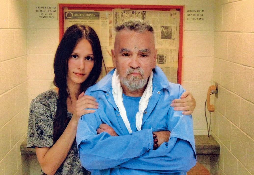 Charles Manson y su prometida tienen licencia para casarse