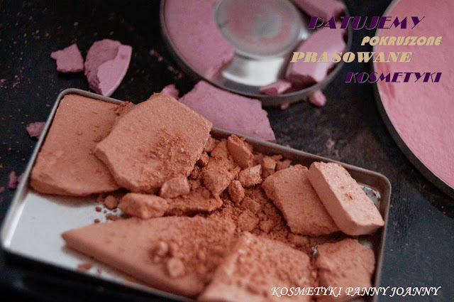Naprawiamy kosmetyki prasowane