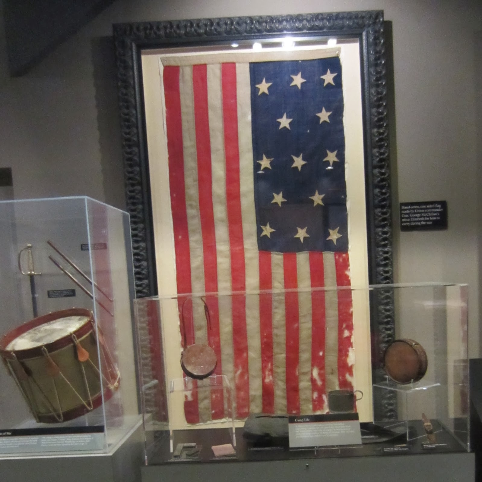 General McClellan's flag, Antietam / Souvenir Chronicles