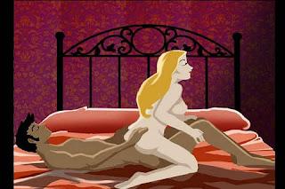 A cavalgada invertida deixa o sexo mais quente e excita o parceiro que consegue uma boa visão do bumbum da mulher.