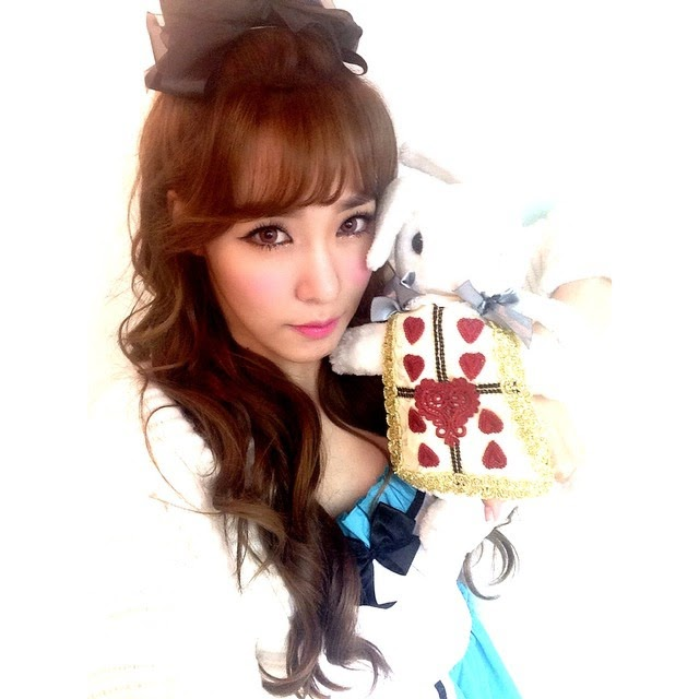 tiffany alice in wonderland