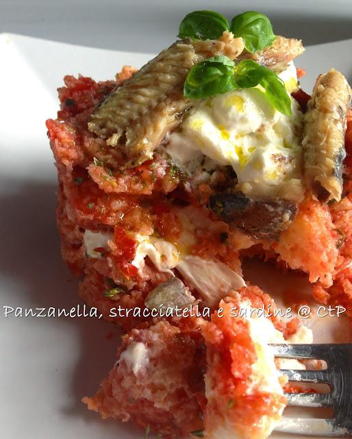 pss = panzanella, stracciatella e sardine
