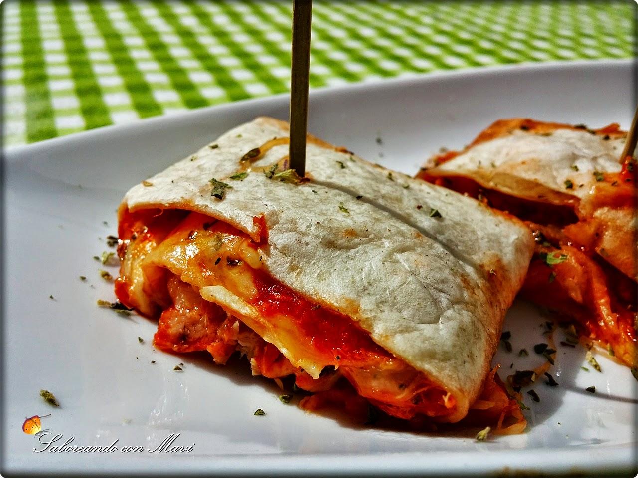 Rollitos - Pizza
