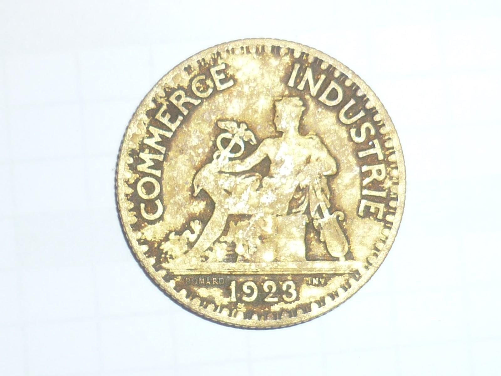 Blog detection amateur bon pour 2 francs 1921 et 1923 for Chambre de commerce de france bon pour 2 francs 1923