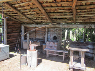 Black Powder Era Fort King George Blacksmith