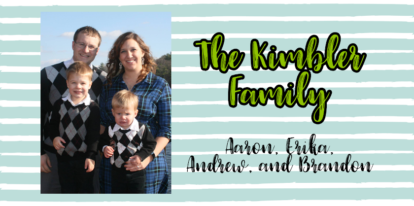 Aaron, Erika, Andrew, and Brandon Kimbler