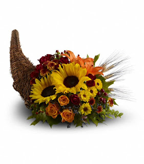Order a Cornucopia of Flowers