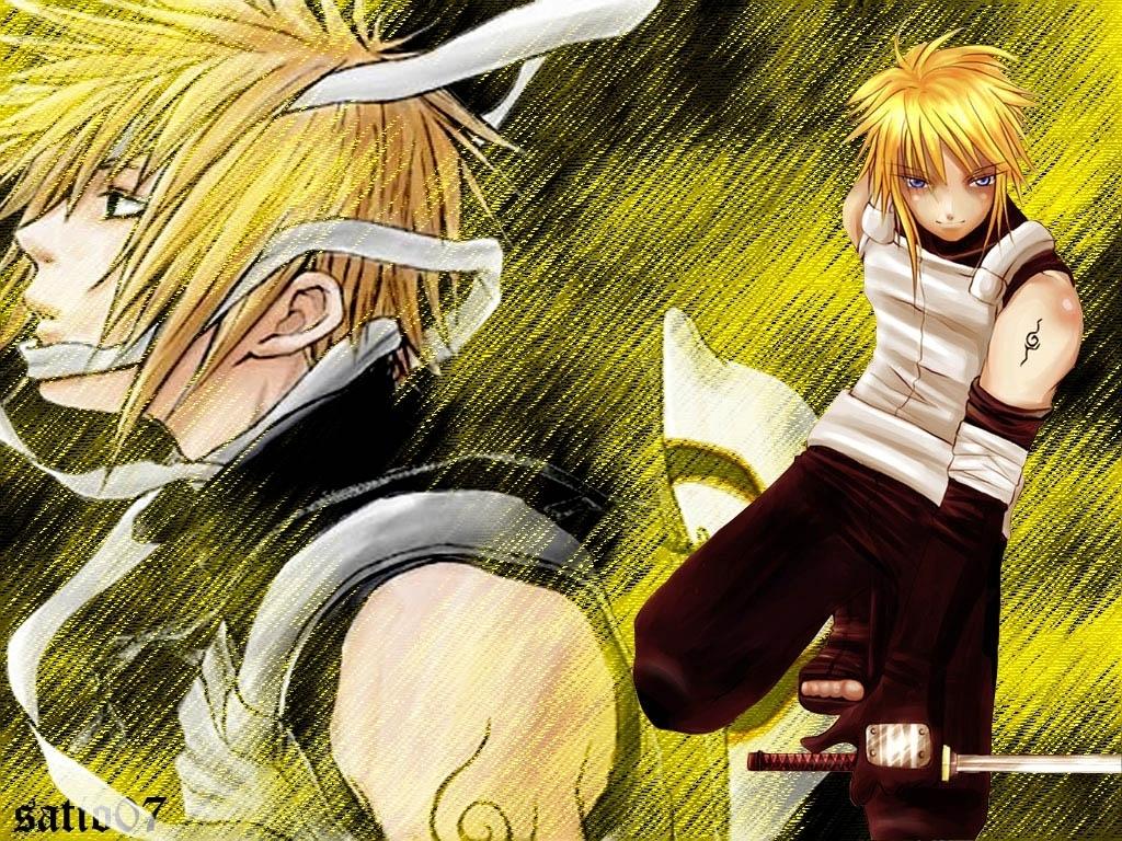 Yondaime Hokage Minato The Yellow Flash Naruto Black Wallpaper