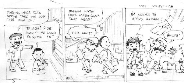 100 araw ng komiks day 13 echoseros ang aking komiks strip na balak ko