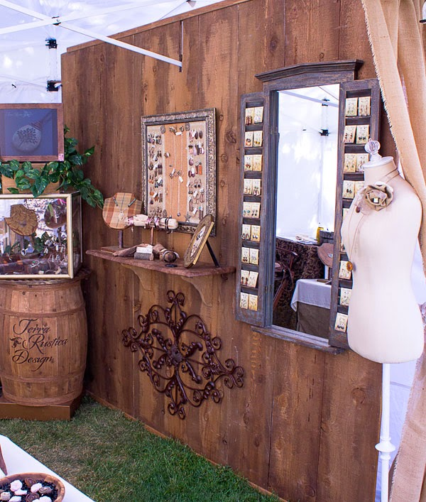 Exhibition Booth Wall : Love my art jewelry cedar wall for craft fair booth tutorial